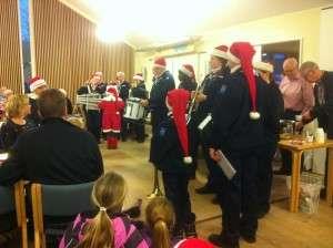 Kolding Tambourkorps spiller julen ind.